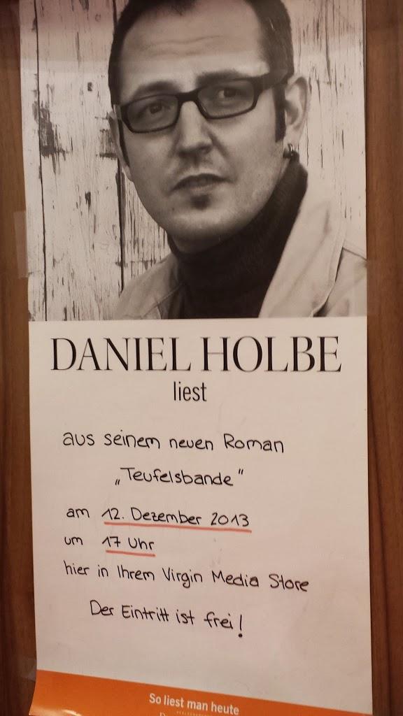 """The Read Pack im Außeneinsatz: Lesung """"Teufelsbande"""" von Daniel Holbe"""