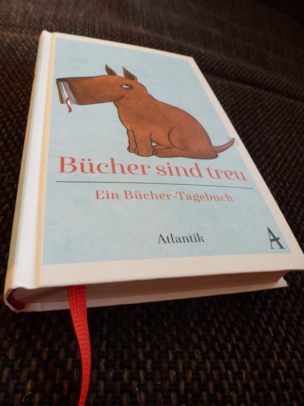 """Ausprobiert: Büchertagebuch """"Bücher sind treu"""""""