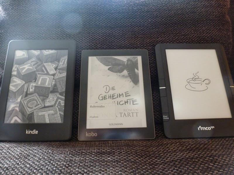 E-Reader-Vorstellung: der Vergleich
