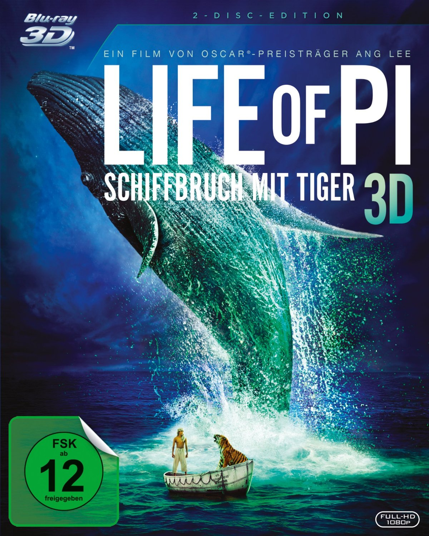 Angesehen: Life of Pi – Schiffbruch mit Tiger