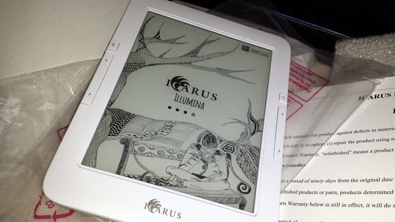 E-Reader-Vorstellung: Icarus Illumina E653