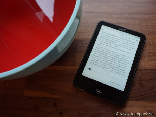 E-Reader-Vorstellung: Tolino Vision 2