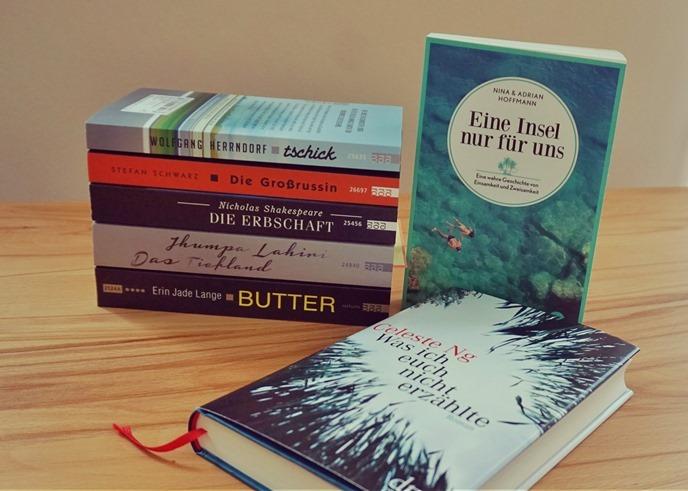 Neu im Regal: #jdtb16 im Mai und literarischer Urlaub