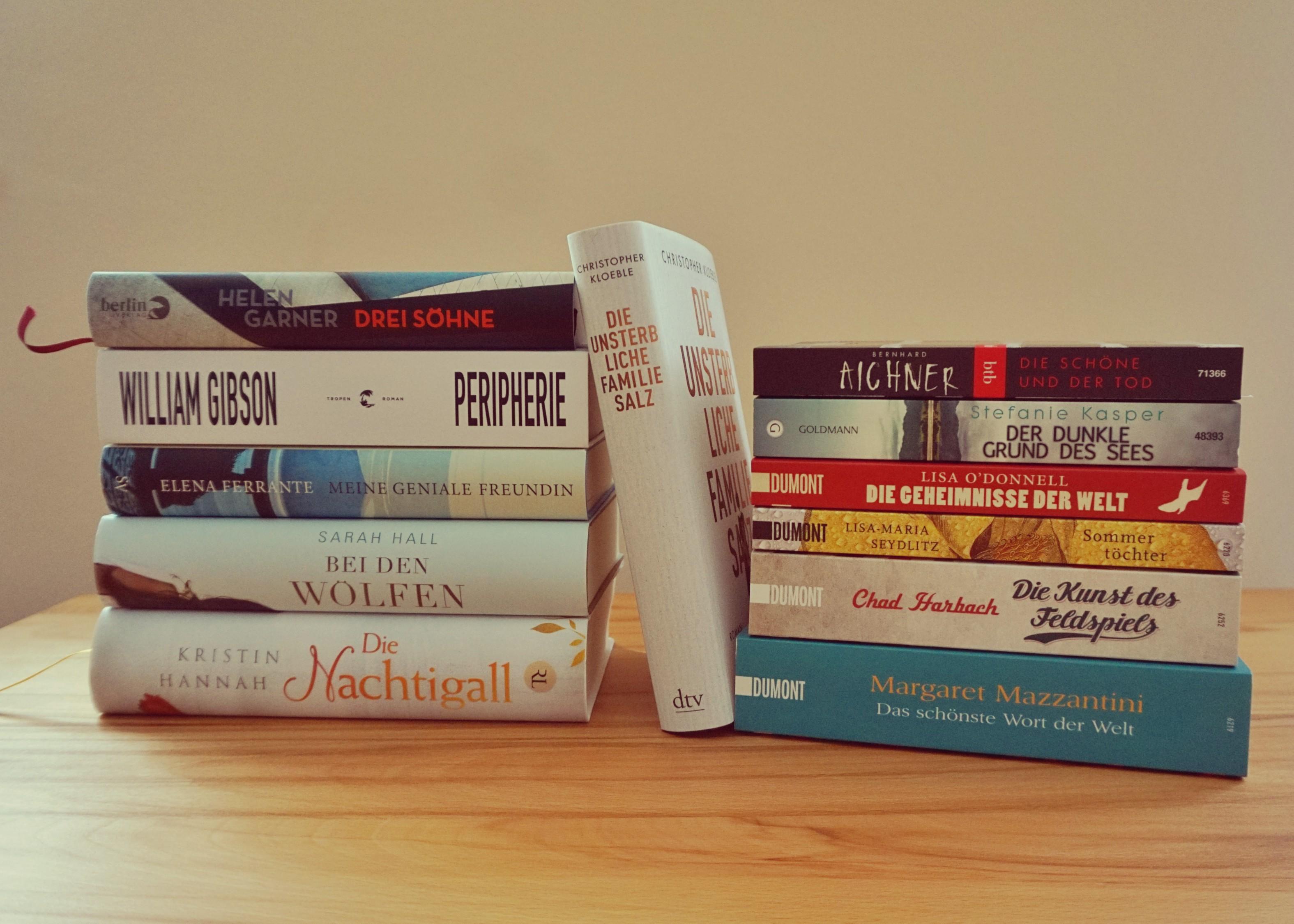 Neu im Regal: #jdtb16 im August und eine Bücherflut