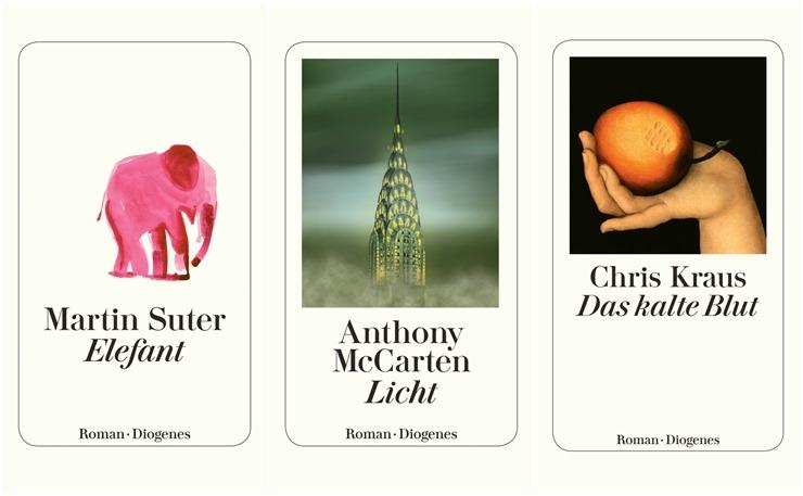 Ein Blick in die Verlagsvorschau von… Diogenes Verlag
