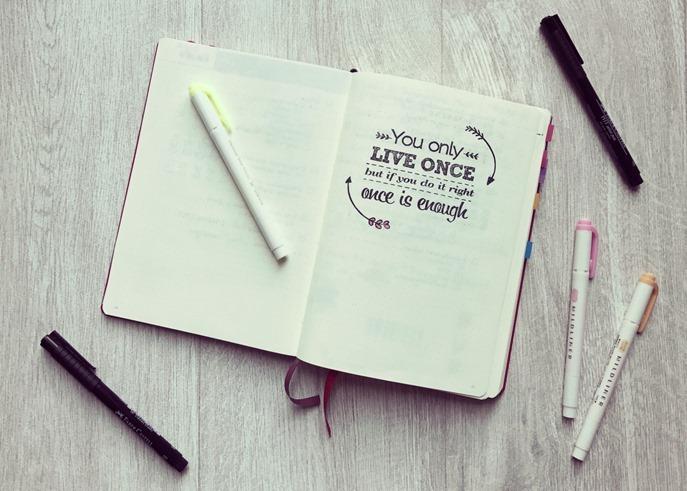 """Mein Superbuch: einige Ideen für das """"perfekte"""" Notizbuch"""