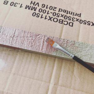DIY im Rattenbau um einen furchtbar langweiligen Bilderrahmen aufzuhbschen habehellip