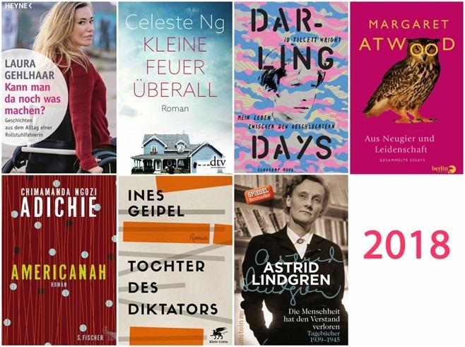 Frohes neues Jahr: Sieben Bücher für 2018, die ich unbedingt lesen will!