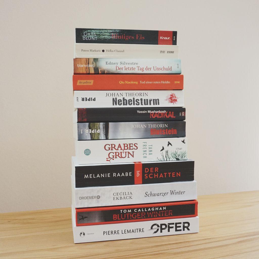 12 Bücher gegen den Krimihunger