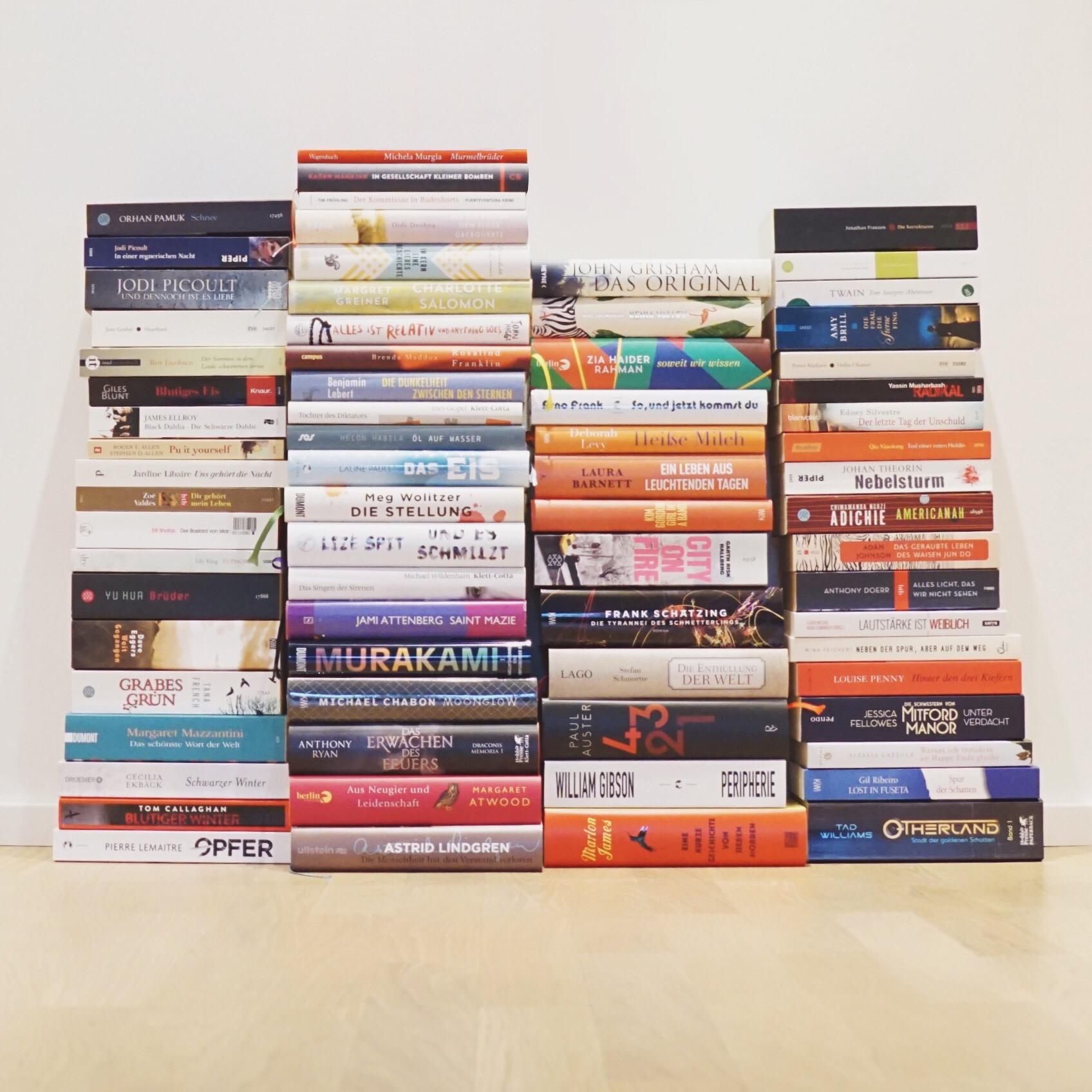 Mein Stapel ungelesener Bücher: die Qual der Wahl