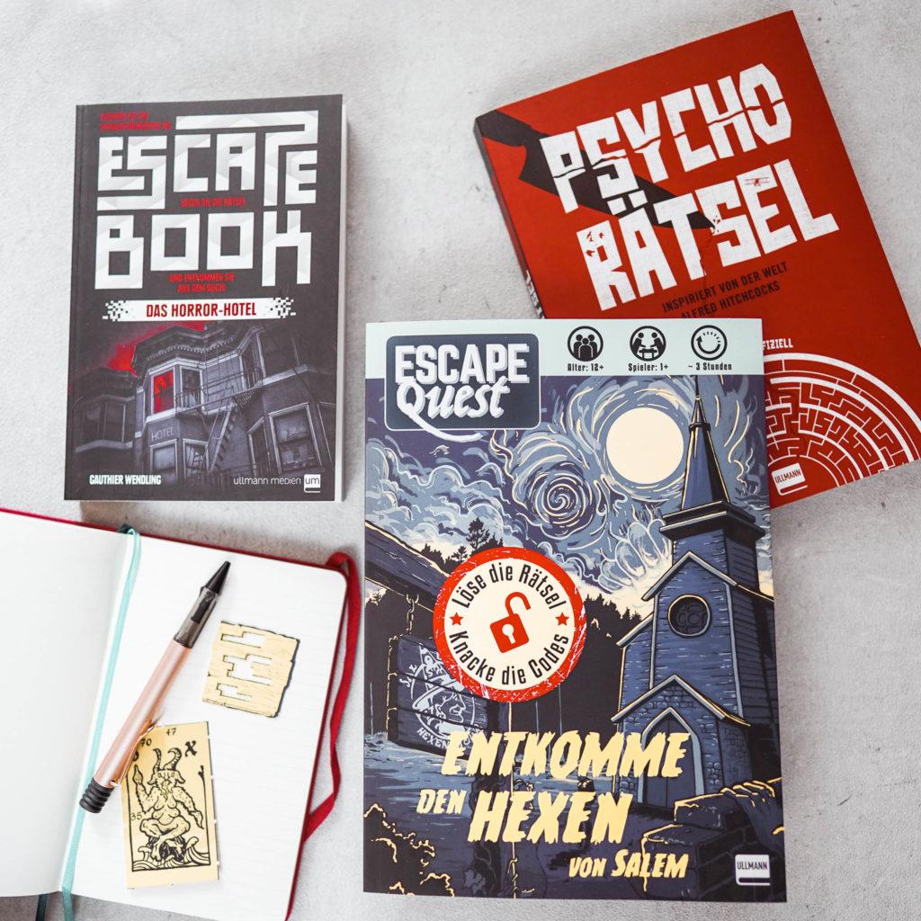 Ausprobiert: Escape Books – der Escape Room für Zuhause