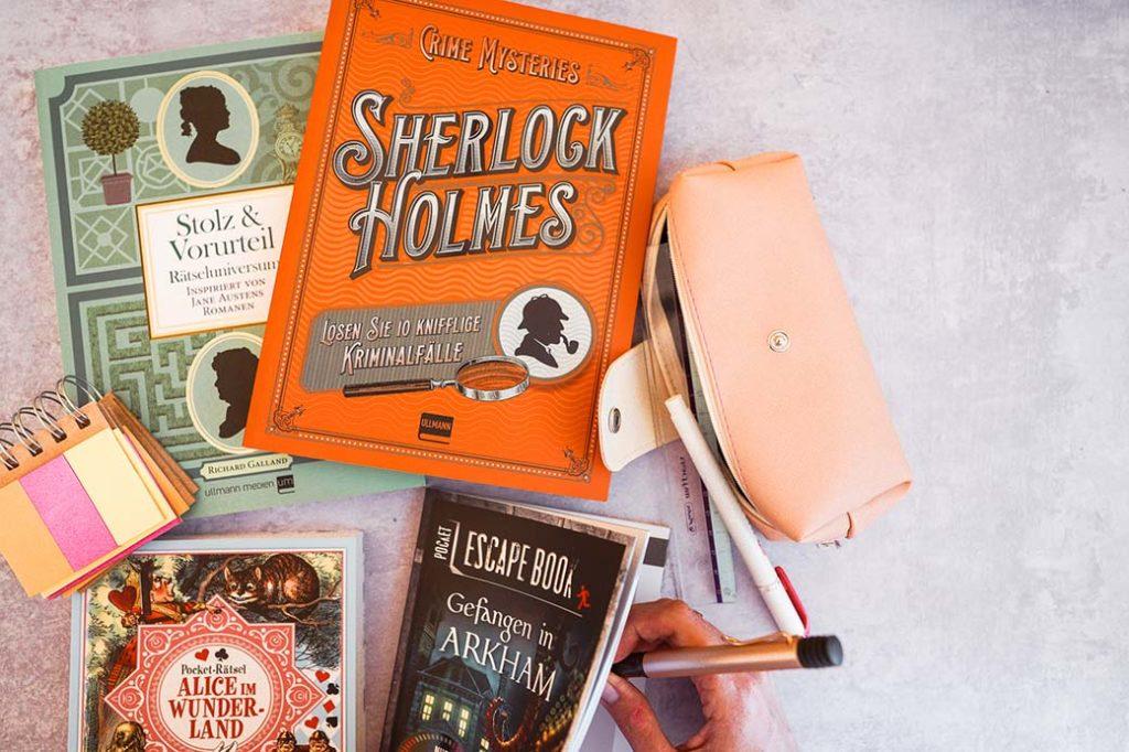 Literarische Rätselbücher für fast jeden Geschmack