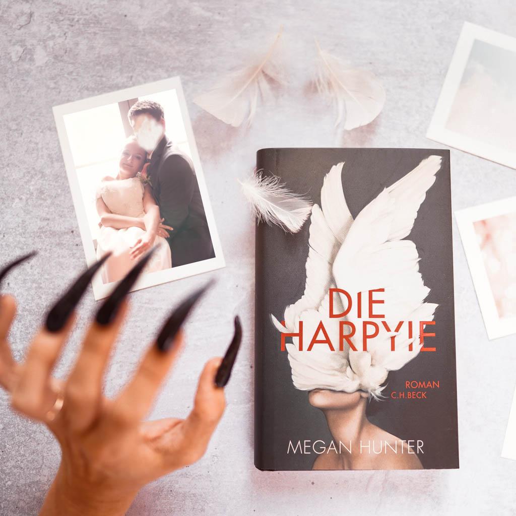 """Das Portrait einer wütenden Frau, Megan Hunter """"Die Harpyie"""""""